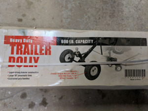 600 lb capacity trailer dolly - new/unopened
