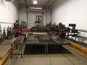 Steel Plate Cutting and Fabrication Business for Sale