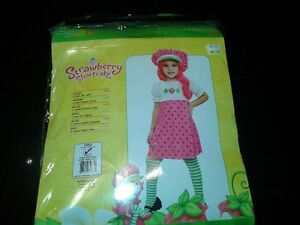 Strawberry shortcake costume size 3-4