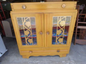 Solid Wood Antique Cabinet