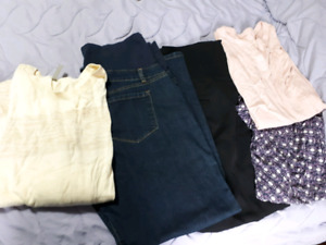 Double extra large maternity clothing lot