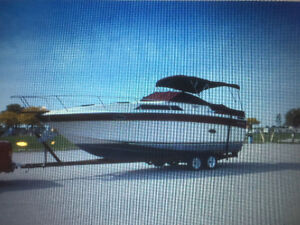 27' boat and trailer $2500