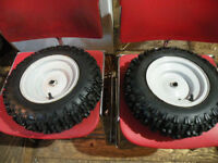 mtd snow blower tires and rims