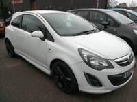 2012 Vauxhall Corsa 1.4i 16v ( 100ps ) SRi A/C 3DR White 51K Low Ins Immaculate