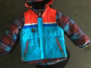 Kids Obermeyer Ski Jacket Size 4-5