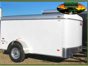 2017 5X10 Enclosed/Cargo Trailer Canadian Hauler - AIR LITE