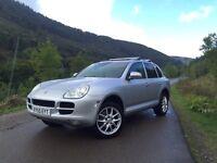 Porsche Cayenne 3.2 tip auto S, Xenons Bose Sat Nav Turbo brakes wheels & exhaust