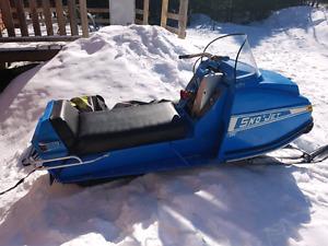 Snowjet + traineau