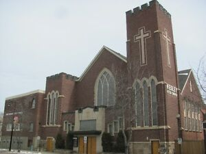 FIRST WESLEY UNITED CHURCH SPRING GARAGE SALE MARCH 31 + APRIL 1