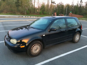 2001 Volkswagen Golf 2Dr Coupe Auto