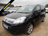 2012 12 CITROEN BERLINGO 1.6 625 ENTERPRISE L1 HDI BLACK 52475 MILES DIESEL