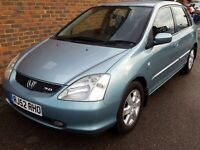 Honda Civic Type S with Low Miles and Mot only £750 ovno