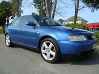 AUDI A3 1.8 2002 MY T SPORT COMPLETE WITH M.O.T, SERVICE HISTORY HPI CLEAR