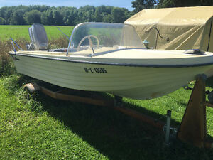 Evinrude With Trailer Kitchener / Waterloo Kitchener Area image 1