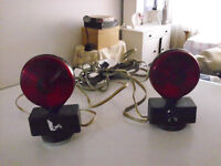 TOWING LIGHTS MAGNET, TOW ANYTHING SAFE WITH THESE