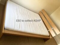 Ikea King bed £50