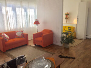 LOFT FURNISHED LUXURY 5M FROM DOWNTOWN NO LEASE