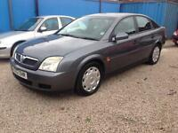 2002/52 Vauxhall Vectra 1.8 LS LONG MOT SERVICE HISTORY 2 KEYS 116k drives Mint