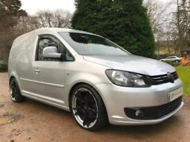 140ps VOLKSWAGEN CADDY CUSTOM SHOW VAN HIGHLINE LAMBORGHINI RIMS 2.0TDI 6 SPEED