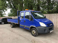 2007 07 Iveco Daily 3.0 t/d double cab tipper 6 Speed 5 tonn 144 bhp may p/x