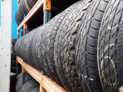 4WD USED TYRES SALE A/T M/T BRIDGESTONE DUNLOP HANKOOK FROM $39 Heathmont Maroondah Area Preview