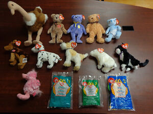 TY Beanie Babies Collection - Mint Condition