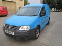 2010 Volkswagen Caddy 2.0SDI PD 69PS C20 sld x 2 diesel 1 owner euro 4