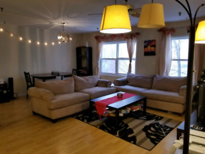 Furnished Master Bedroom in 2 bedroom apt. ALL INCLUDED.