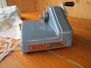 Bliss Portable Strip Slitter