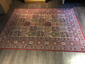 5 VARIOUS AREA RUGS