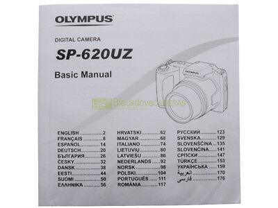Libretto di istruzioni Olympus SP-620 UZ in italiano. Manuale utente multilingue