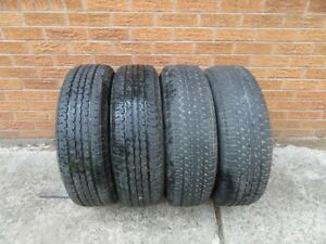 4 ST Radial Maxxis 205/75R15 trailer tires
