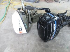 6HP and 9.8 HP outboards