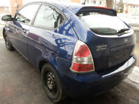 2007 hyundai ACCENT AUTOMAMATIQUE, EXCEELLENTE MECANIQUE!!!!