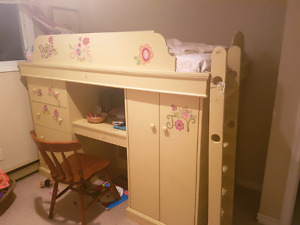 Solid Hand Made Bunk Bed