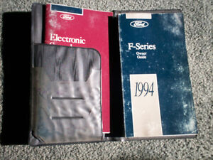 F150, F250, F350 OWNER'S MANUALS 1994 and 1996 Cambridge Kitchener Area image 4