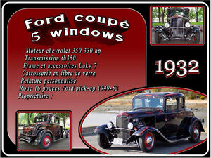 hot rod 1932 ford 5 windows
