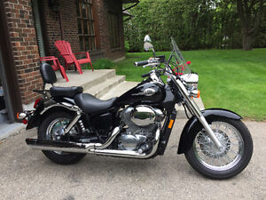 2001 Honda Shadow 750  only 14,600 kms