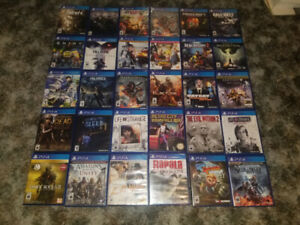PS4 & XBOX 1  GAMES FOR SALE