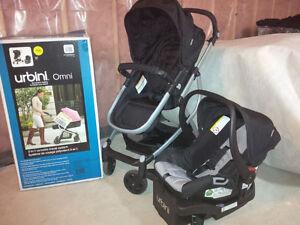 Urbini Omni 3-1 Travel System, Car Seat, Stroller