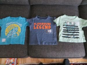 Carter's 12-month (12M) boys t-shirts, $5 for the lot