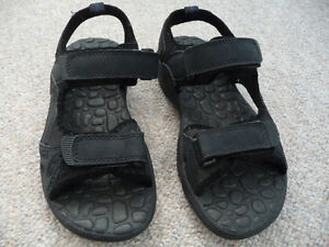 Men's Black Sandals - Suitable For Water Use - Size 8 London Ontario image 1