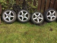 16 inch tsw alloys 4 stud Peugeot Citroen 4x108