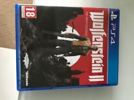 PS4 game Wolfenstein 2 The New Colossus