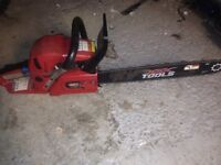 XXX tools chain saw specs in the pictures