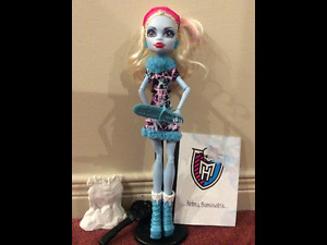 Monster High Doll- Abbey Bominable