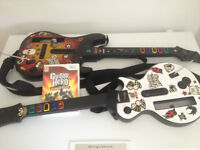 Guitar Hero World Tour Nintendo Wii + 2 Guitares Sans-Fil