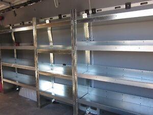 Sprinter Transit Promaster étagères tablettes / shelves