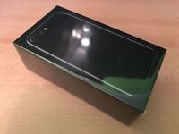 iphone 7 plus 128gb jet black unlocked brand new apple warranty