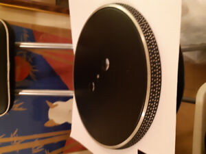 Turntable platter & turntable mats (3), excellent condition